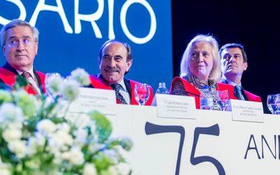 Celebración del 75 Aniversario del Colegio Mayor Moncloa