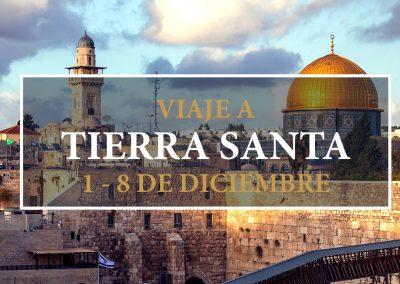 Viaje a Tierra Santa (1-8 diciembre 2019)