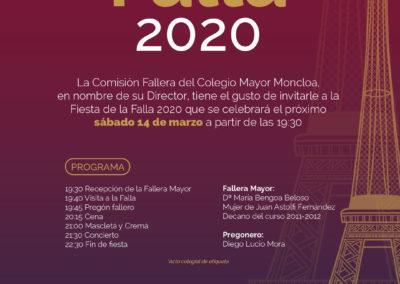 Falla Torre Eiffel 2020